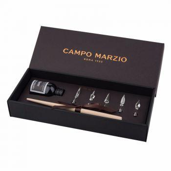 意大利Campo Marzio奥古斯丁欧式复古书写蘸水钢笔 蓝黑色