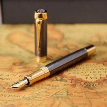 派克(PARKER)130周年限量款世纪系列 - 福笔笔套礼盒套装