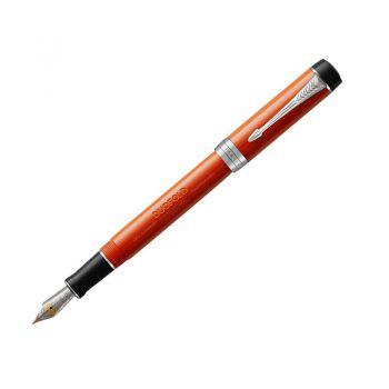 PARKER 世纪玛瑙红白夹墨水笔