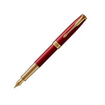 Parker 卓尔宝石红金夹墨水笔