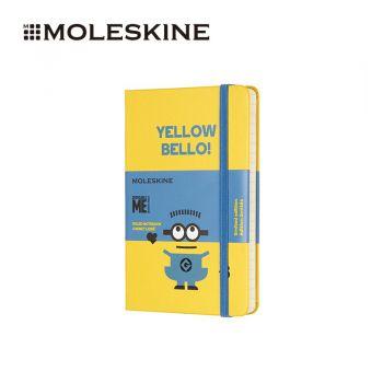 MOLESKINE 小黄人硬面横间笔记本口袋型