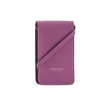 campo marzio design彩色弹簧手机包 灰雁色