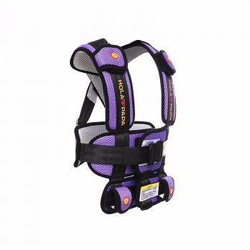 HOLAPAPA 便携式可折叠儿童安全座衣座椅 公主粉 -大号