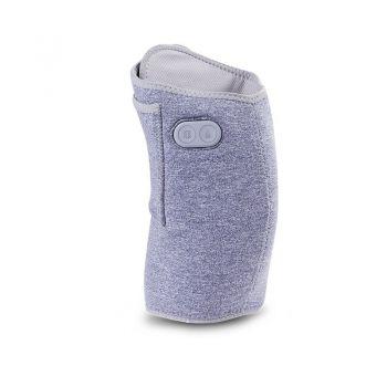 可调温电热按摩护膝 粉色