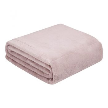CAIVIN USB电热暖身毯 藕粉色