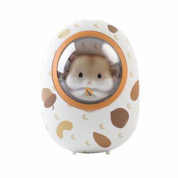 黄油猫太空舱萌宠暖手宝移动电源 仓鼠